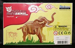 Mini 3D Animal Puzzle - Elephant - Construction