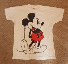 Vintage Mickey Mouse Wake Forest Collegiate Pacific Shirt FREE SHIPPING