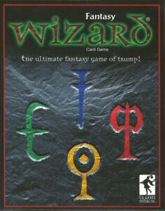 Fantasy Wizard Card Game USGS New Sealed Ages 10+ 3-6 Players