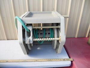 LOCAL PICKUP ONLY Ames ReelEasy Wall Mount Hose Reel With Accessory Tray 60391