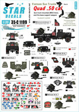 Star Decals 1/35 Vietnam Gun Trucks Part 6: M54 5-ton Truck Quad .50cal 35C1199