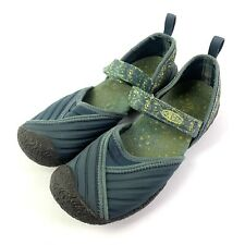 Keen Womens Maryjane Shoes 8 Madrid Blue Green Neoprene Stretch Comfort