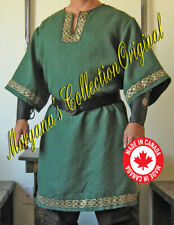 Medieval Celtic Viking Norman Shirt Mid-Arms Sleeves Deluxe 2