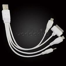 4 in 1 Multi Car USB 2.0 Sync DATA Charger Cable for iphone Samsung S4 htc Nokia