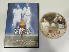 CARROS DE FUEGO CHARIOTS OF FIRE DVD + EXTRAS VANGELIS ESPAÑOL ENGLISH