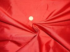 TOPTEX edler hochwertiger Stoff Stoffrest 100% Seide rot 6 m x 1,35 m