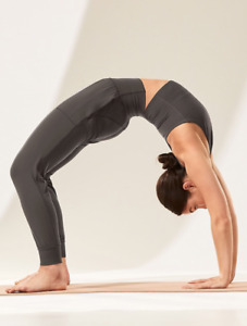 ATHLETA Salutation Jogger XST XS TALL Black Olive | SOFT Yoga Pants Workout