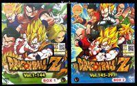 DVD Anime DRAGON BALL Z Complete Series (1-291 End) English Subtitle Region WB