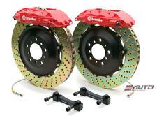 Brembo Rear GT BBK Brake 4piston Red 380x32 Drill Disc Rotor Hummer H2 03-07