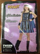 Gladiator Warrior Dress Costume by Spirit Halloween Tween Size L 12-14