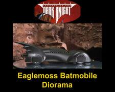 Eaglemoss 1:43 Batman 15 Legends of the Dark Knight W/Magazine Batmobile Diorama
