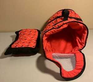 FAO Schwarz - Penelope Puppy Red Dog Carrier with Pillow