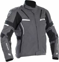 Richa Mens Arc GTX Gore-Tex Grey Black Textile Waterproof Motorcycle Jacket New