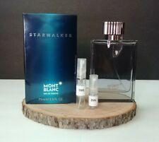 Mont Blanc Starwalker EDT For Men 2ML/5ML Glass Sample Atomizer 100% Authentic!