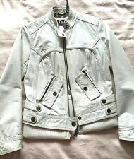 womens dolce and gabbana D & G  leather jacket