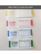 60 Mixed £5 £10 £20 £50 GBP Money Bands - 100% Satisfaction (NEW NOTES)