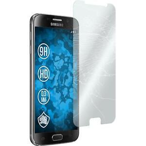 1 x Glas-Folie klar  für Samsung Galaxy S6 Schutzglas Galaxy S6
