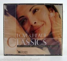 CD Box mit 3 Stück LOVE&HEART CLASSICS-Meisterwerke der Klassik-Reader's Digest