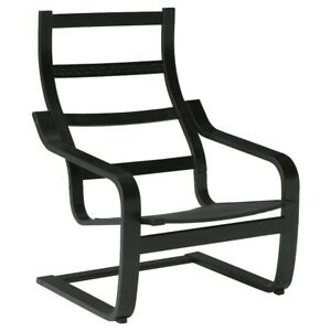 IKEA POÄNG Armchair frame, Black-Brown BRAND NEW- (Frame Only) 200.698.52