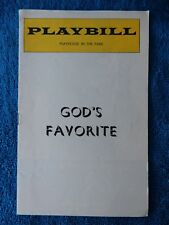 God's Favorite - Playhouse In The Park Theatre Playbill - 1975 - Gardenia