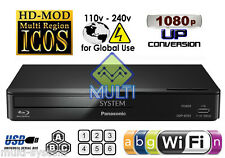 NEW MODEL Panasonic DMP-BD903 Region Free Blu Ray Player Code Free DVD WIFI, USB