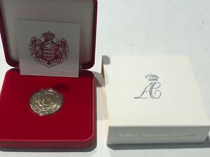 Monaco Euro BU 2011, 2 euro du mariage Avec certificat
