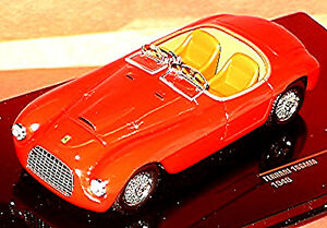 Ferrari 166MM Roadster 1948 Red 1:43 Ixo FER047