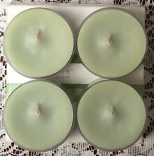 PartyLite Greener Grass Large Tealight Candles V05137 New Nib Fresh Home Retired