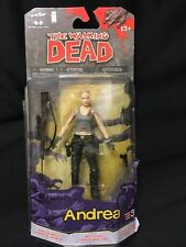 THE WALKING DEAD ANDREA MCFARLANE TOYS SERIES 3 COMIC BOOK FIGURE NEW FREE SHIP