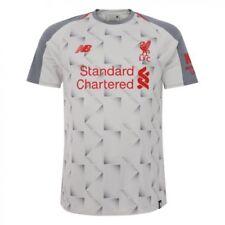 Camiseta de fútbol de clubes ingleses grises liverpool
