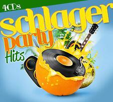 CD Schlager partie Hits d'Artistes divers 4CDs