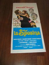 LOCANDINA,1976,LA SPOSINA,Sergio Bergonzelli.Magda Konopka,Garrone erotico