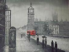 grande peinture à l'huile de Londres