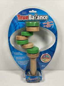True Balance Handheld Wooden Coordination Puzzle Toy by Excite STEM NEW
