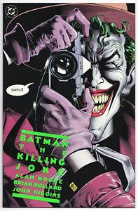 Batman The Killing Joke 1st Print! VF Joker! Alan Moore & Bolland Classic! (1)