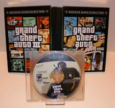GTA Grand Theft Auto 3, Vice City & San Andreas Game Lot for Xbox by Rockstar