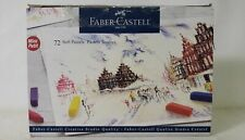 Faber Castell 72 Soft Vibrant Colors Pastels Sticks Set