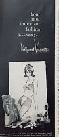 1961 Vintage Womens Hollywood Vasarette Sportie Shortie Girdle Bra Fashion Ad