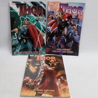 Marvel Thor TPBs vol 1 2 3 Straczynski Djurdjevic Coipel Graphic Novel READ DESC