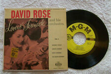 "DAVID ROSE AMBIENT MGM 45 EP 7"" LOVERS SERENADE IN BLUE, SUNRISE, PUPPET GAUCHO"