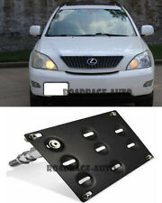 For Lexus Rx330 Rx350 SUV Tow Hook Hole Cover License Plate Bracket Mount Holder