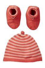 Tea Collection Baby Knit Beanie Hat Sock Booties 3 Pc Set  One Size $39 NWT
