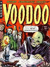 AJAX RETRO COMIC BOOK COVER VOODOO CANDLE LARGE POSTER ART PRINT BB3714A