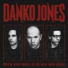 """DANKO JONES """"ROCK AND ROLL IS BLACK AND BLUE""""  VINYL LP NEU"""