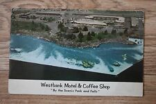 Postcard - Westbank Motel & Coffee Shop - Idaho Falls - Idaho USA
