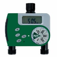 Orbit Digital Two Automatic Outlet Hose Faucet Lawn Watering Timer - 58910