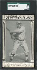 1948 W464 Exhibits Baseball's Great Hall of Fame   Roger Bresnahan  SGC 35 !!