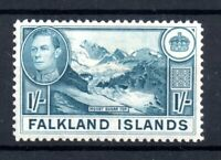 Falkland Islands 1938 1/- light blue SG158 mint MNH WS19491