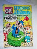 Mortadelo y Filemón Colecciones Ole! Comic Tebeo Español Ediciones Bruguera1980
