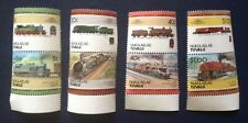 Nukulaelae-Tuvalu - Railway Locomotives (2nd Series) 1984 - MNH